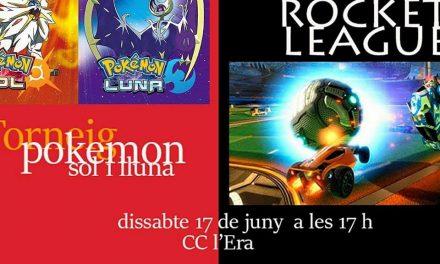 17 Junio Torneo Rocket League/ Pokemon Sol y Luna